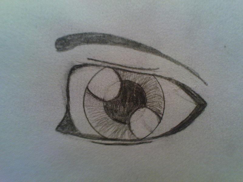Comment dessiner des yeux triste - Image de manga triste ...